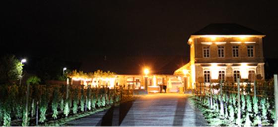 Das Kathrinenbild in Deidesheim am Abend